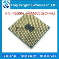 A10 4600M CPU AM4600DEC44HJ Socket FS1 FS1R2 CPU 4M Cache 2 3GHz Quad Core Processor A10