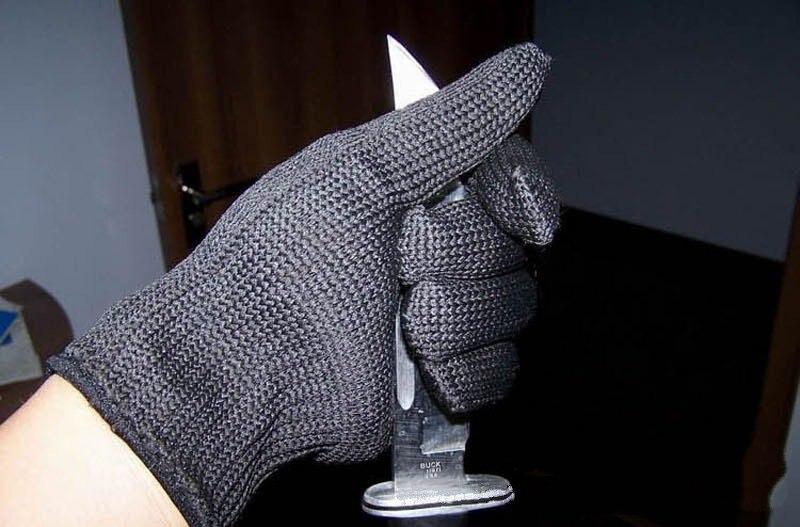 ФОТО Cut-resistant glove level 5 wire multipurpose professional protective enhanced self-defense