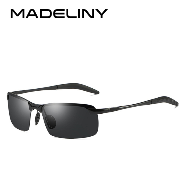 MADELINY Brand Men's Polarized Sunglasses Men Aluminum Sun Glasses HD Sport Sunglasses  For Men oculos de sol  masculino MA320