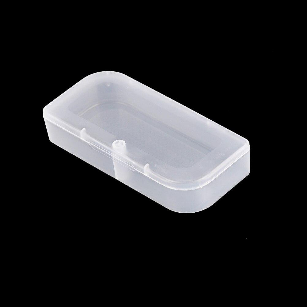 5pcs/lot Electronic Plastic Parts Container Tool BoxTranspar