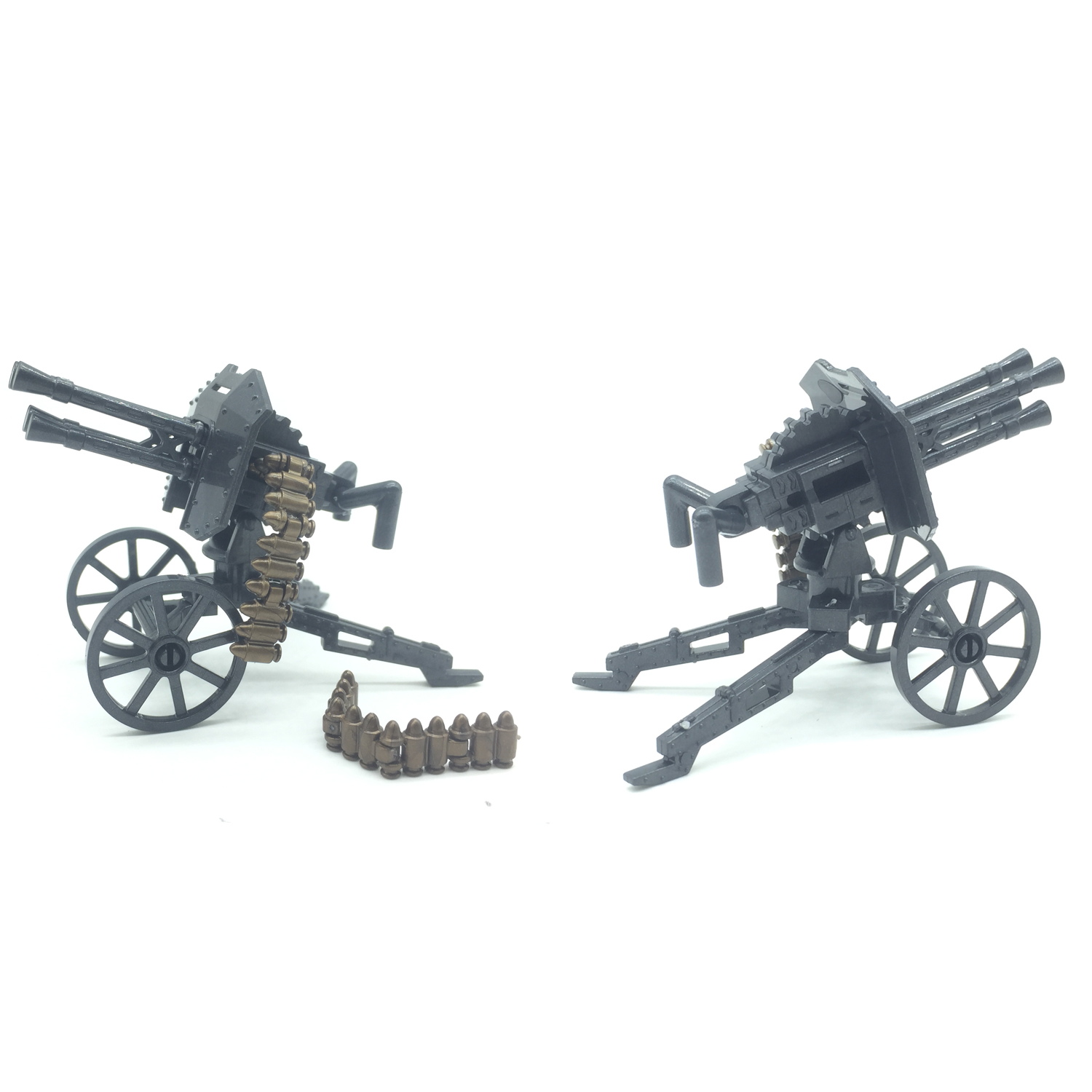 Koolfigure Military Building Block Accessories,World War 2 Artillery,Mountain Cannon,Gebirgskanone,Mountain Rifle Style 1
