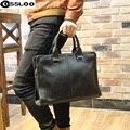 Продвижение Бесплатная доставка! Подлинным брендом композиционной кожи сумка мужская дорожные сумки случайный мужчина плечо портфель для делового человека!
