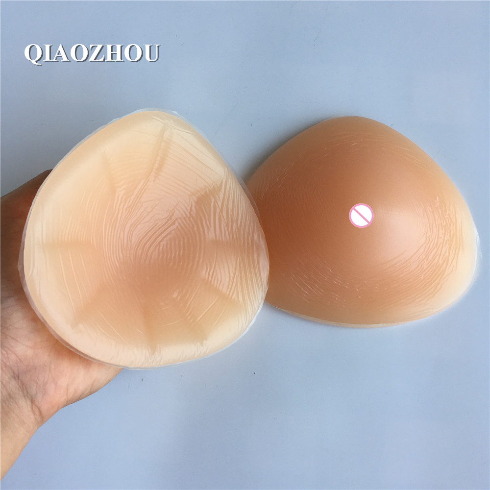 400g/pair small fake breast prosthesis for breast cancer remove left or right hand side medical silicone 32A+ 34A 36A 38AA american cancer society breast cancer certificationed screening device women 654nm red light self check at home for sale