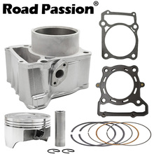 Road Passion Motorcycle Engine Cylinder + Piston Rings 78mm (Cylinder diameter) For Kawasaki KLX250 1993-2014 KLX300 1996-2007