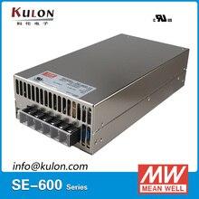 Original MEAN WELL SE-600-15 600 W 40A 15 V Meanwell fuente de Alimentación Conmutada de 15 V ac/dc unidad de potencia