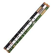 Chino Flauta de bambú profesional transversal Bambu Flauta de viento de madera instrumento Musical de Dizi 3 Color buena voz de zampoñas
