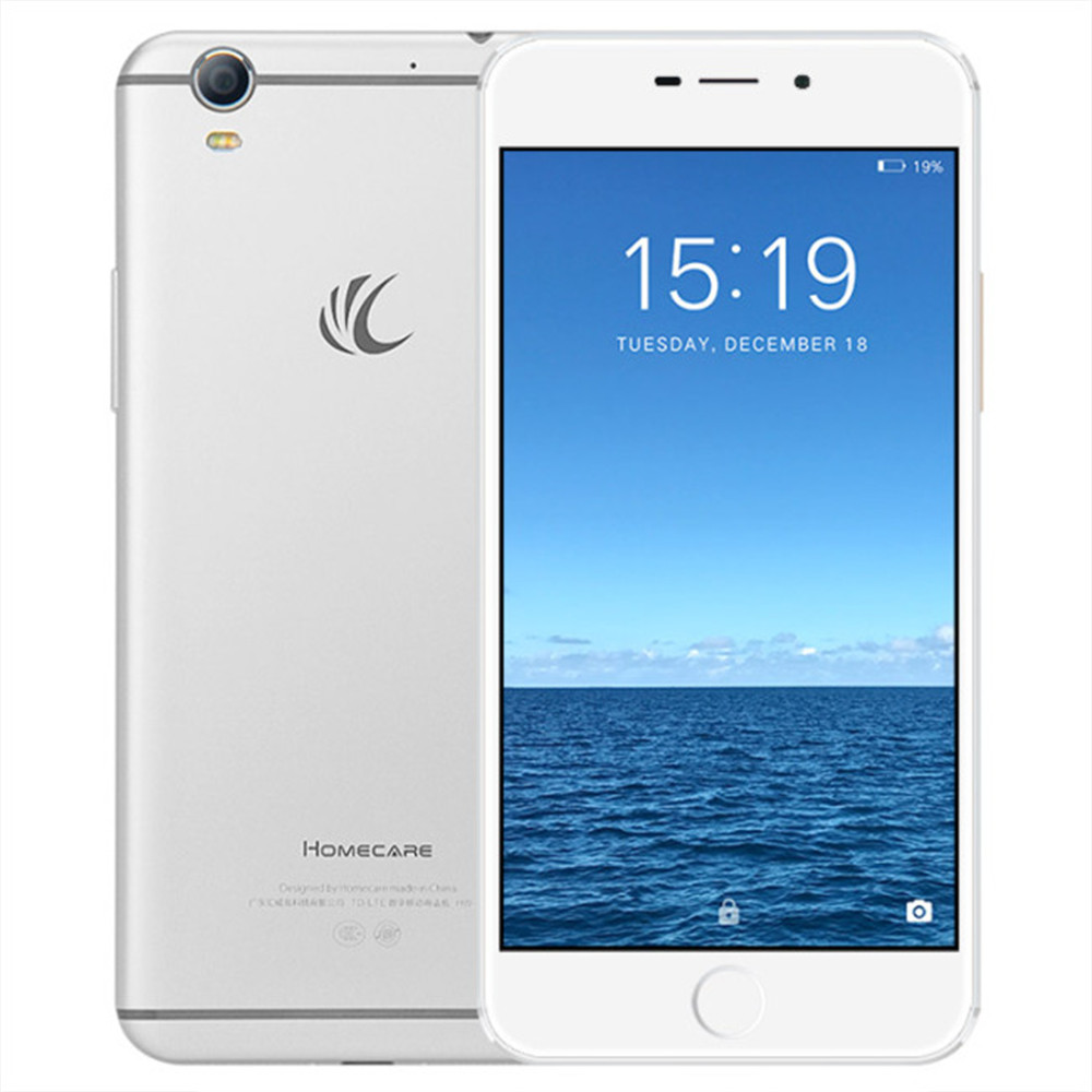 HOMECARE V8 4 GB RAM 128 GB ROM Snapdragon 652 1,8 GHz Octa Core 5,5 Zoll AMOLED FHD Bildschirm Android 6.0 4G LTE Smartphone