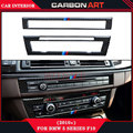 For bmw 5 series F10 F18 carbon fiber interioir CD Panel And Air condition Panel