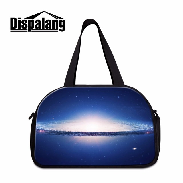 800bb85e7917 Dispalang galaxy stars boys hand large travel bag multifunctional female duffle  bags teenagers overnight weekend bag