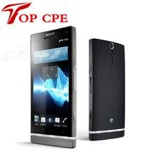 Оригинал LT26ii Мобильный Телефон Sony Ericsson Xperia SL LT26ii Android 4.3 дюйм(ов) двухъядерный 3 Г GPS Wi-Fi 12MP 32 ГБ бесплатная Доставка