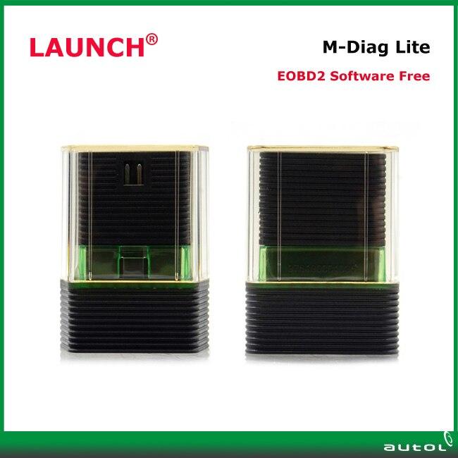 Prix pour Original Launch M-Diag Lite pour IOS Android Intégré Bluetooth OBDII Outil De Diagnostic Peut Soutenir Fonctions Spéciales