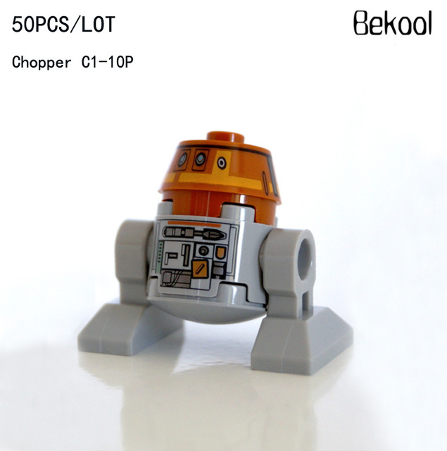 50pcslot Star Wars Custom Rebels C1 10p Chopper Sw565 Mini Droids