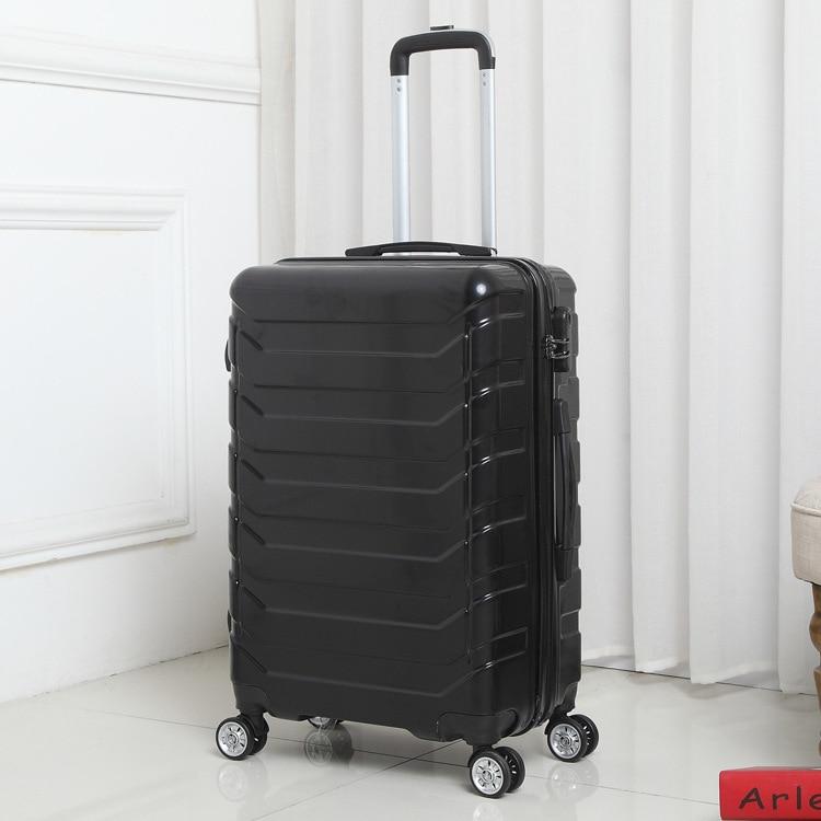 90FUN valise pc coloré porter sur roues Spinner bagages roulants TSA serrure voyage d'affaires vacances pour les femmes hommes - 2