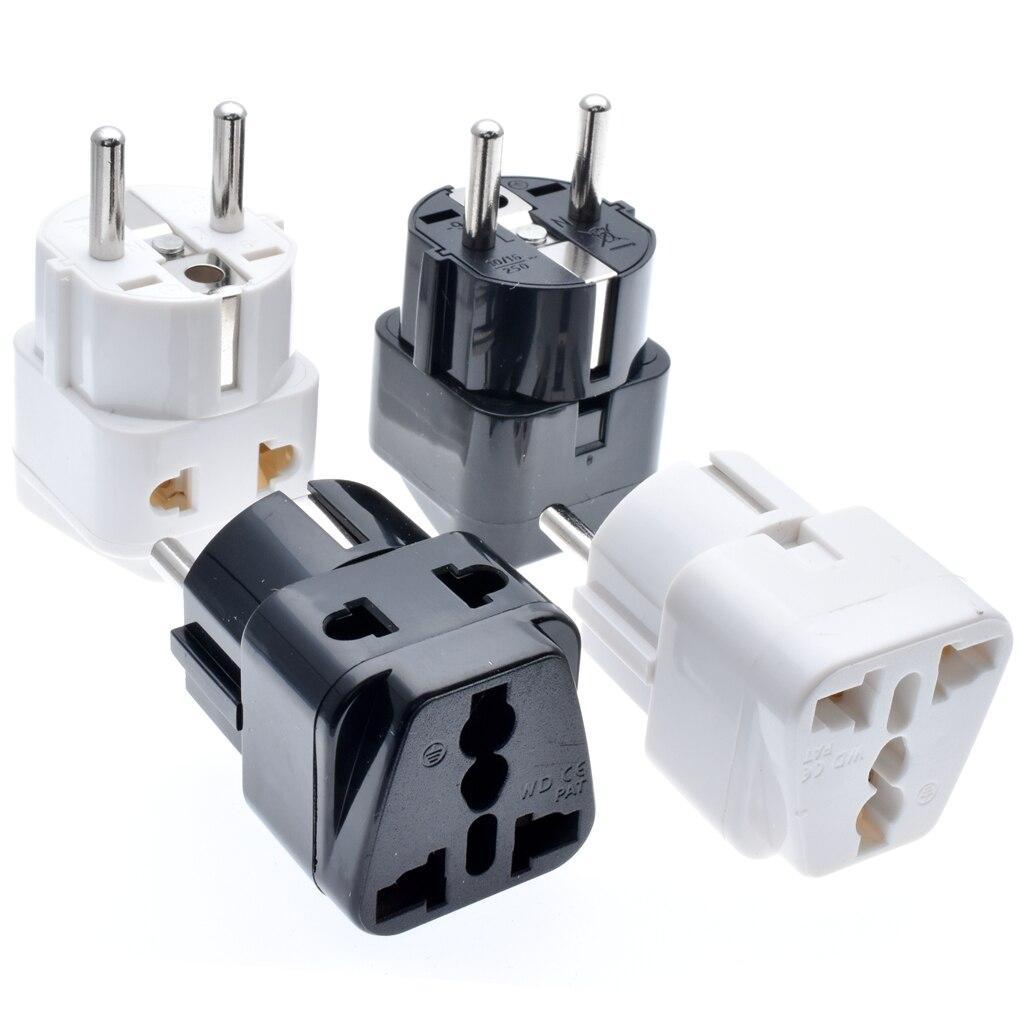 Blanc 3 Way Cable Free Socket Adaptateur