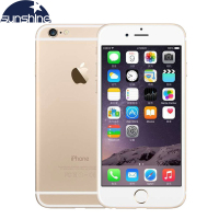 Unlocked Apple IPhone 6 4G LTE Cell Phones 1GB RAM 16 64 128GB IOS 4 7