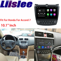 Liislee навигационная gps для Honda Accord для 7 2003 ~ 2007 Android HD Сенсорный экран Аудио Видео мультимедийный плеер без CD DVD