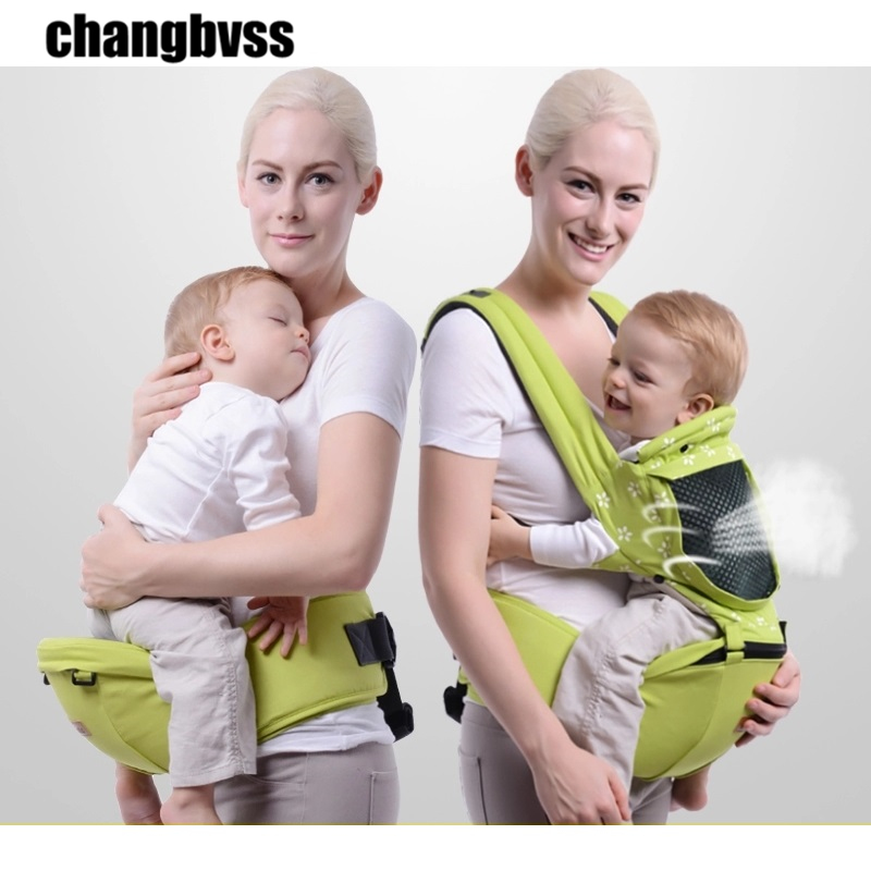 Multifunction 0-48 Months Baby Sling Waist Stool,Comfortable Baby Carrier Soft Backpack,Breathable Baby Carrying Belt HipSeat