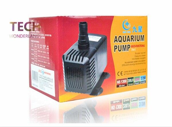 Aquarium fond filtre réservoir de poisson original pompe à eau multifonction 3in1 pompe submersible vague pompe NS 1300 livraison gratuite