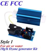 CE EMC LVD FCC 10g/h quartz tubes car ozonators for air purifying