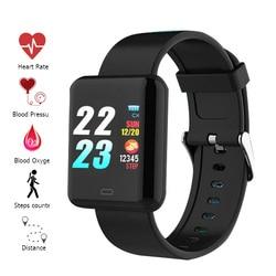Smart Band Watch Color Screen Wristband Heart Rate Activity Fitness tracker Smart Electronics Bracelet VS Xiaomi Miband 2