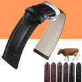 Genuine Leather Watchband Watch Band Strap for Longines / IWC / Tissot 12mm 13mm 14mm 15mm 16mm 18mm 19mm 20mm 22mm 24mm
