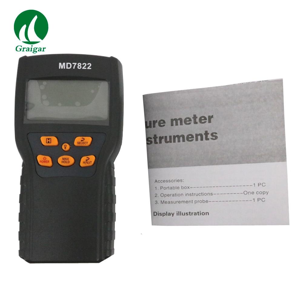 Digital MD7822 Grain Moisture meter for Wheat Paddy Rice and CornDigital MD7822 Grain Moisture meter for Wheat Paddy Rice and Corn