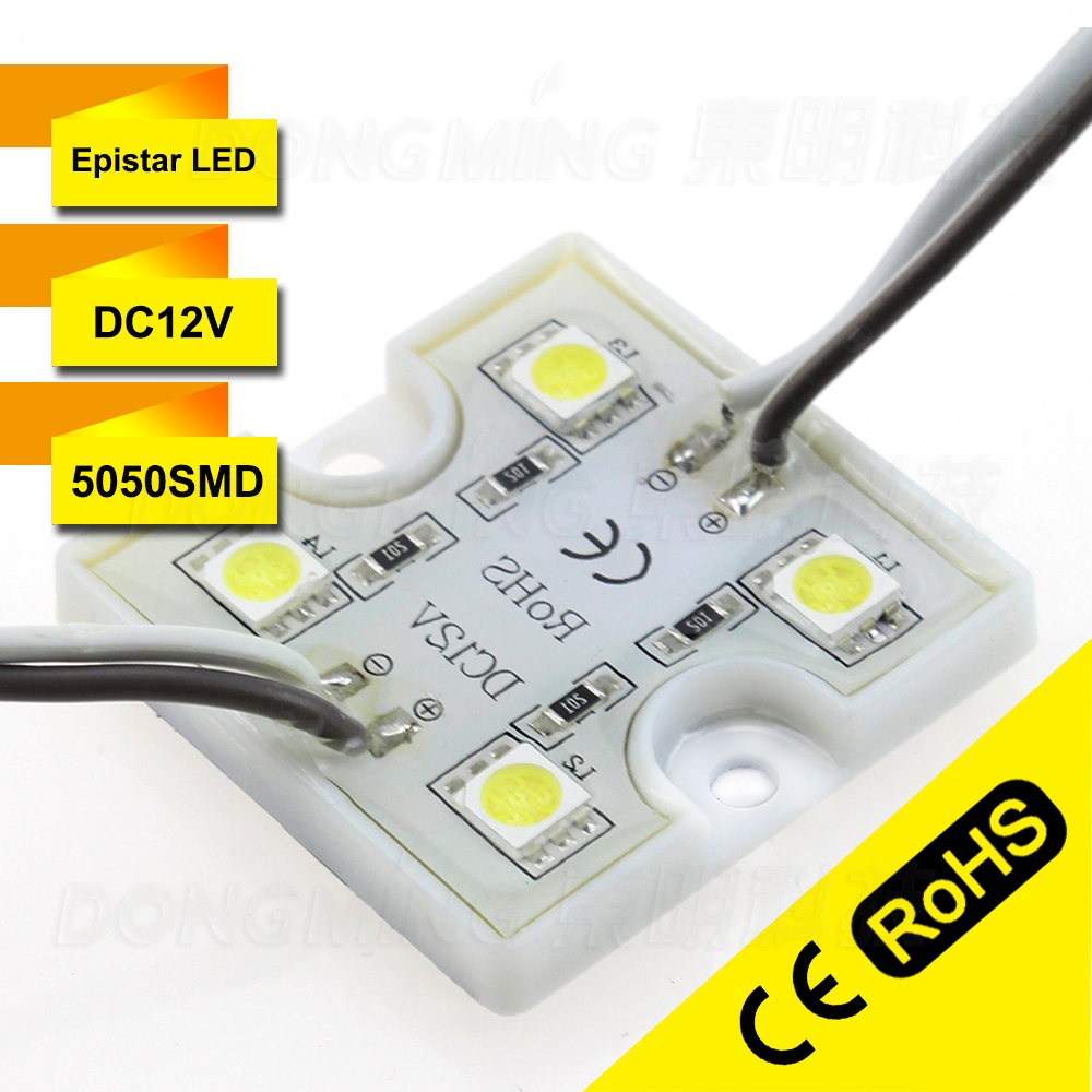 Free Shipping,LED modules LED Signage Lighting,channel letter 4 LED SMD 5050 waterproof 3 years warranty 500pcs/lot