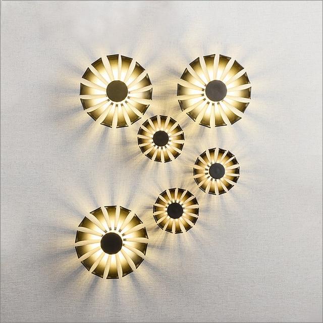 R duit eusolis nordique mur lampe creatieve conception clairage int rieur escaliers led lumi re - Lumiere salon ...