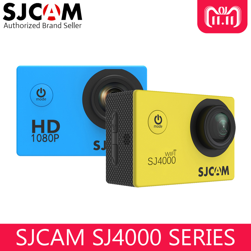 Newest Original SJCAM SJ4000 Wifi / SJ4000 2.0 LCD Screen Action Camera Upgrade SJ CAM 4000 Series 30m Waterproof Mini Sport DV free shipping original sjcam sj4000 series sj4000 page 3 page 2 page 2