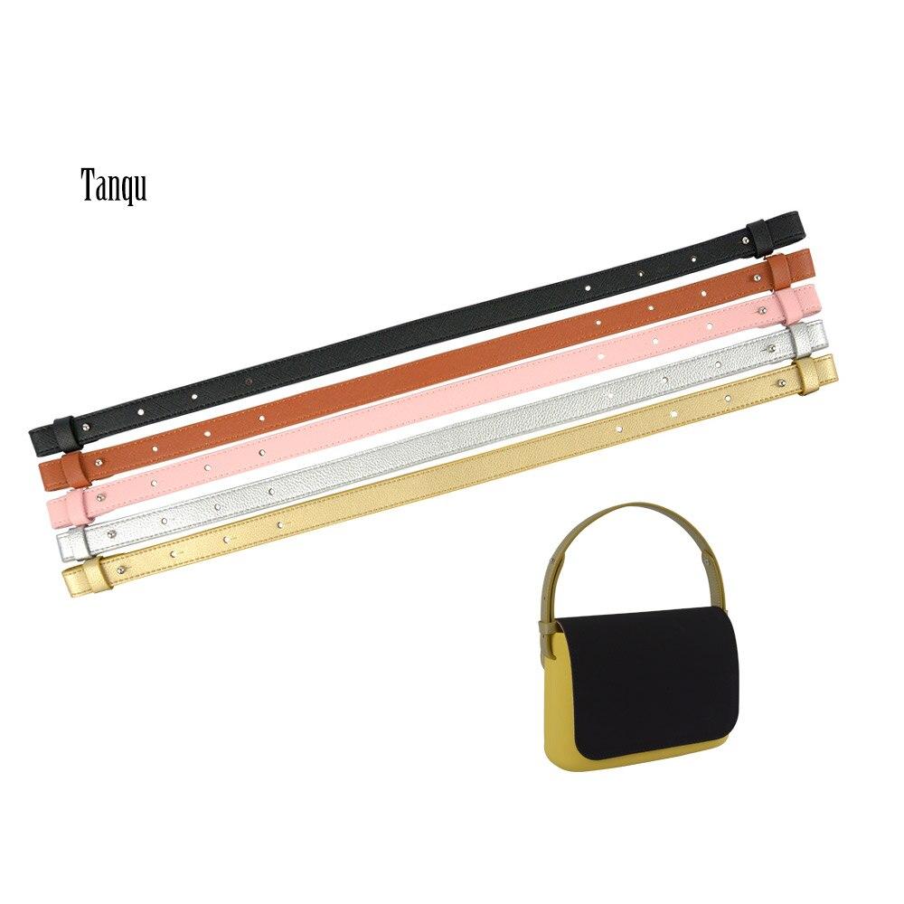 TANQU Bidirectional Adjustable Length Edge Paint Belt For Obasket Opocket Obag Faux Leather  O Bag Handle Strap Attachment