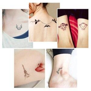 Image 5 - Pigmento temporário natural da tatuagem da planta 10ml, tinta de tatuagem, pintura corporal da arte, maquiagem de longa duração, ferramentas de tatuagem (