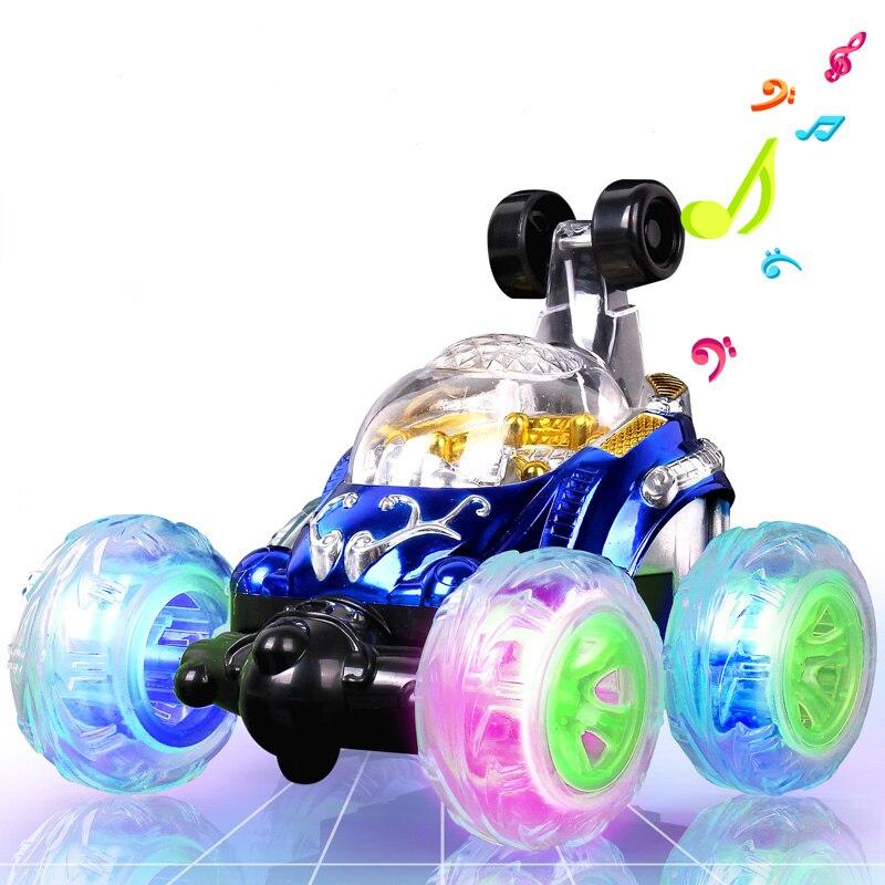 Dublör araba rulo müzik uzaktan kumanda araba off-road uzaktan kumanda araba yarışı hareketli kalıp şarj çocuk oyuncak araba
