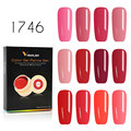 Venalisa Gel laca 5 ml 180 colores puros remojo LED UV Gel DIY francés CANNI Gel de uñas pintura de Gel de Color barniz