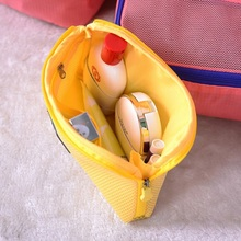 Organizer System Kit Case LaconicPortable Storage Bag Digital Gadget Devices USB Cable Earphone Pen Travel Cosmetic Insert LM76