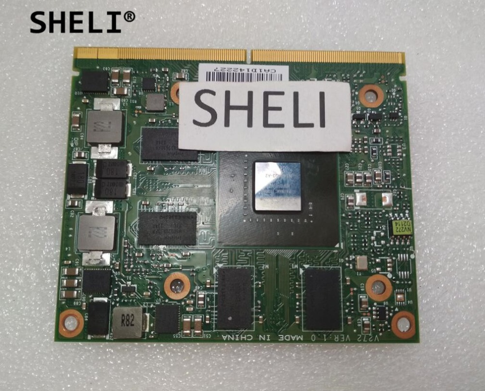 SHELI N V I D I A Qua.dro K2000M for DELL M4600 M4700 K2000M 2GB Graphics Video Card