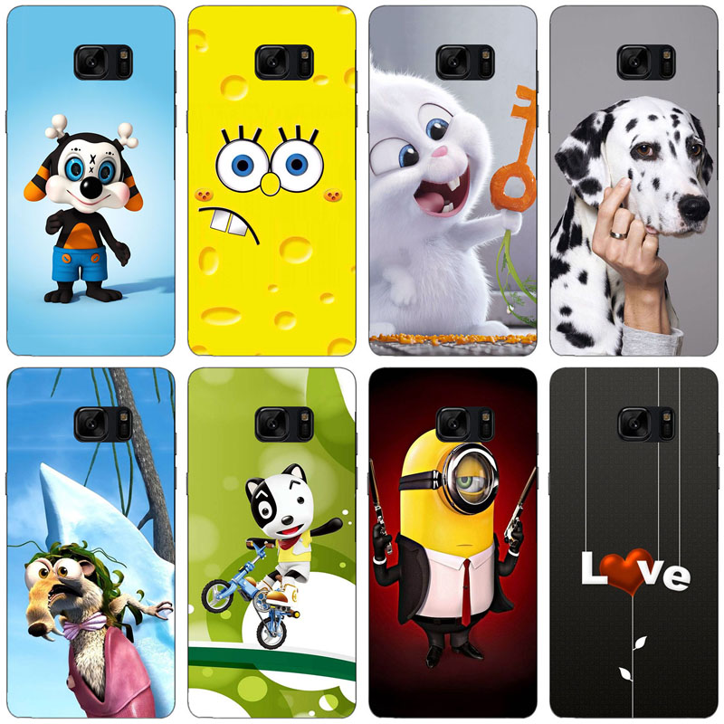 for Samsung Galaxy Note 7 Case Cover for Samsung Galaxy Note 7 FE Cover Silicon Case