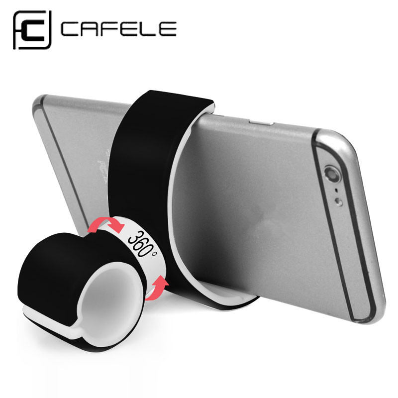 Cafele Universal MTB Car Bike Cycling Motorcycle Mobile Phone Holder Bracket Bedside Table Lazy Section 360 Rotation Stand