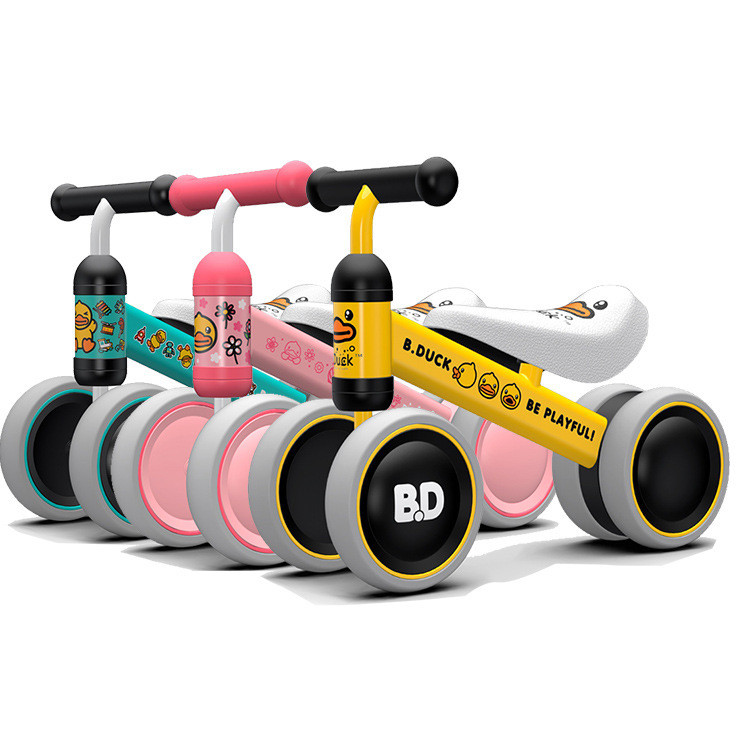 HTB1AZnDlvBNTKJjSszeq6Au2VXas New brand children's bicycle balance scooter walker infant 1-3years Tricycle for driving bike gift for newborn Baby buggy