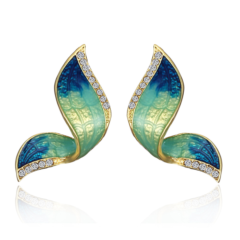 2018 New Hot Fashion Fine Excellent Jewelry 3 Color Butterfl