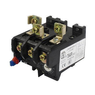 цена на 18-27A Adjusting Range 80A 3 Poles 1NO 1NC Thermal Overload Relay JR29-45/TSA45P