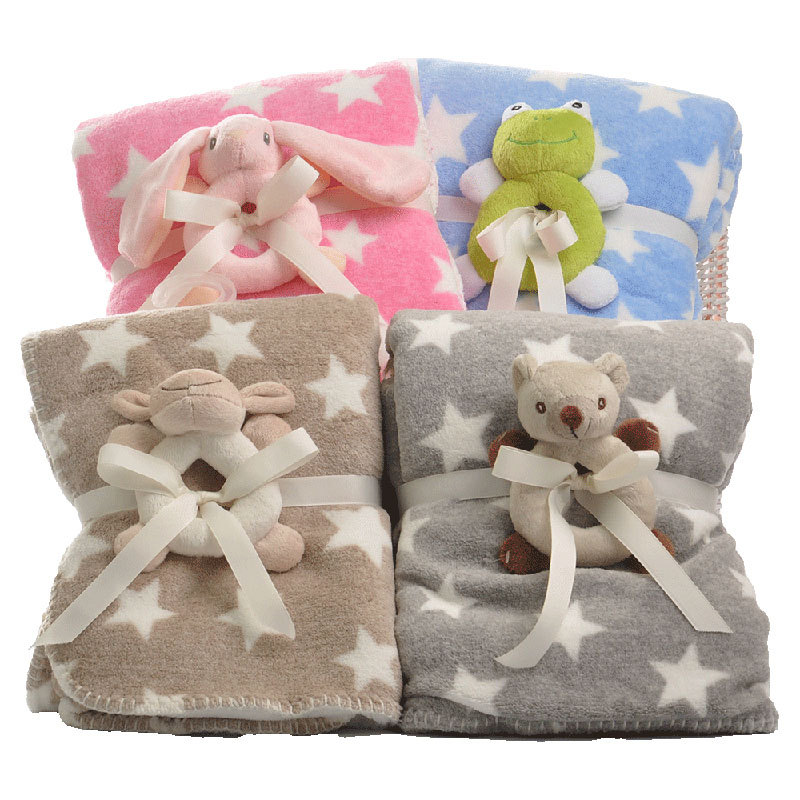 Star Lamb Cashmere Cartoon Pink Comfort Baby Blanket Coral Fleece Throw Blankets Super Soft Cartoon Kid Blanket Children Bedding-in Blankets from Home  Garden on Aliexpresscom  Alibaba Group