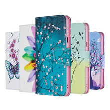 Painted TPU Leather Flip Case For Huawei Honor 8A 8X 7A Pro 7S 7X 7C Wallet Cover For Huawei Honor 10 7A 5.45 7C 5.7 Case Book цена и фото
