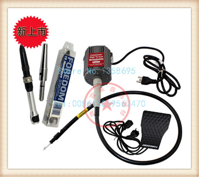 Foredom hammer handpiece flexshaft machine 220v L series цена