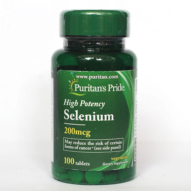Free Shipping High Potency Selenium 200 Mcg 100 Tablets