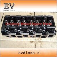 Para yanmar motor 4d98e 4tne98 4tne94 dirtect tipo de injeção cabeça do cilindro + kit junta