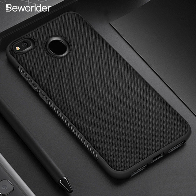 Beworlder For Xiaomi Redmi 4X Case Silicon Soft Silicone Cases TPU Anti Slip Phone Back Cover For Xiaomi Redmi 4X Case Armor