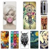 Soft Silicone TPU Cover Case For Sony Xperia XA F3111 F3113 F3115 Fashion Cool Soft TPU Back Cover For Sony Xperia XA Phone Case