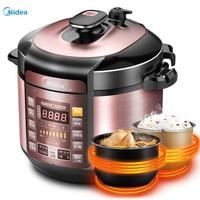 Midea 5L Electric Pressure Cooker Rice Cooker with Double Pot|Electric Pressure Cookers|Home Appliances -