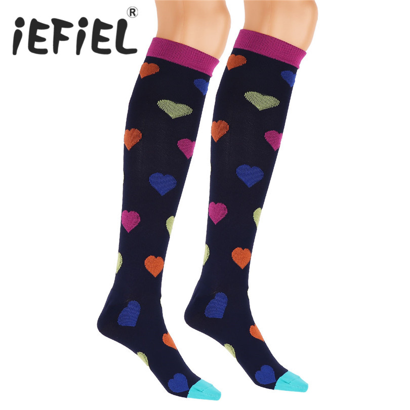 New Arrival Mens Unisex Women Compression Socks Best for Athletic Running Medical Sports Flight Travel Crossfit Football Socks
