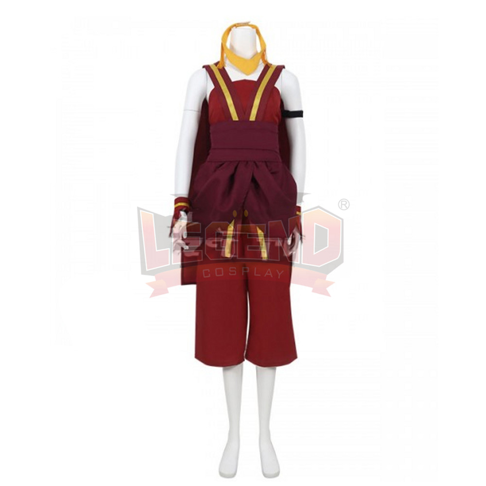 Avatar The Last Airbender Toph Beifong Cosplay Costume Halloween Costume full set custom made